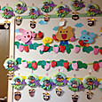 5月 端午の節句の製作&イチゴの壁面
